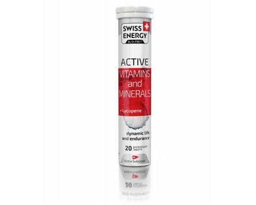 Вітаміни шипучі Swiss Energy Active №20