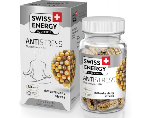 Витамины в Nano капсулах Swiss Energy Antistress №30