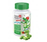 Витамины для детей Swiss Energy CALCIVIT (жевательные пастилки) №60