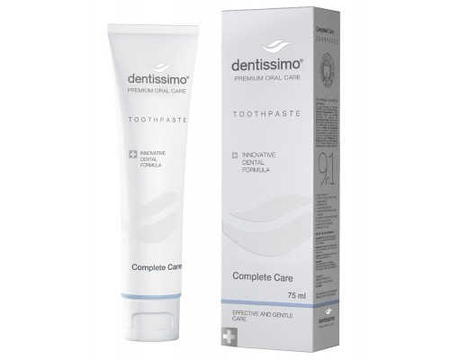 Зубна паста Dentissimo Complete Care, 75 мл