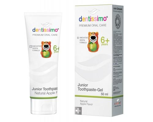 Зубная паста Dentissimo Junior With Apple Aroma (від 6 років), 50 мл