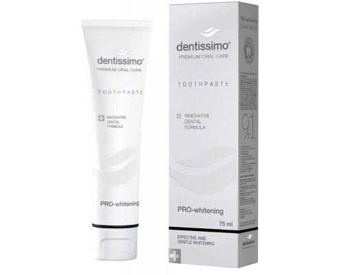 Зубна паста Dentissimo Pro-Whitening, 75 мл