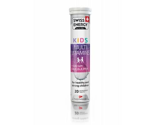 Вітаміни шипучі Swiss Energy Kids №20