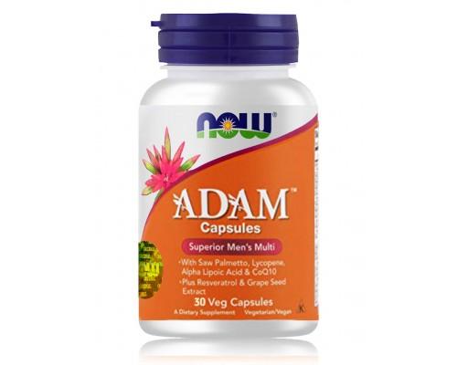 ADAM комплекс для мужчин в капсулах №30 NOW Foods