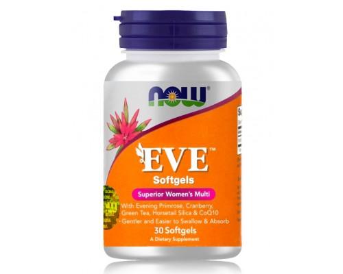 EVE комплекс для жінок у м'яких капсулах №30 NOW Foods