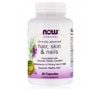 HAIR, SKIN & NAILS краса та здоров`я у капсулах №30 NOW Foods
