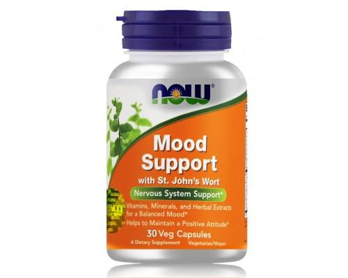 MOOD SUPPORT поддержка ЦНС в капсулах №30 NOW Foods