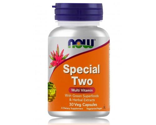 SPECIAL TWO MULTI мультивитаминный комплекс в капсулах №30 NOW Foods