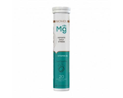 Витамины шипучие NOVEL Magnesium+B6 №20
