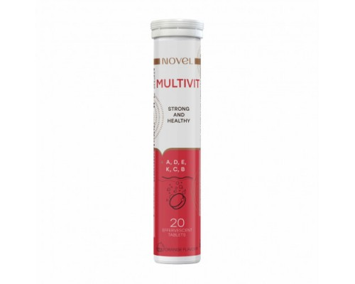 Витамины шипучие NOVEL Multivit №20