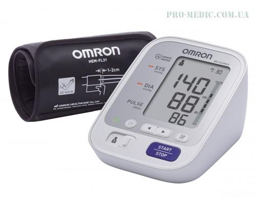 Тонометр автоматичний Omron M3 Comfort (HEM-7134-E) с манжетой Intelli Wrap