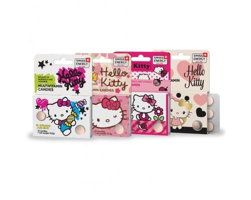 Витамины жевательные для детей Swiss Energy Multivitamin Hello Kitty №12