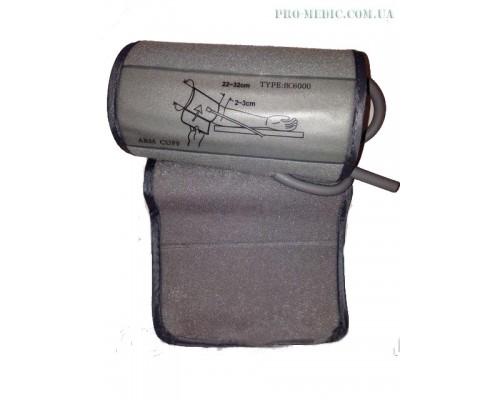 Манжета для тонометра электронного с 1-ой трубкой SlimFit 22-32 см