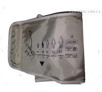Манжета для тонометра электронного с 1-ой трубкой ЛЮКС  22-32 см